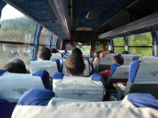 Bus to San Vicente 2