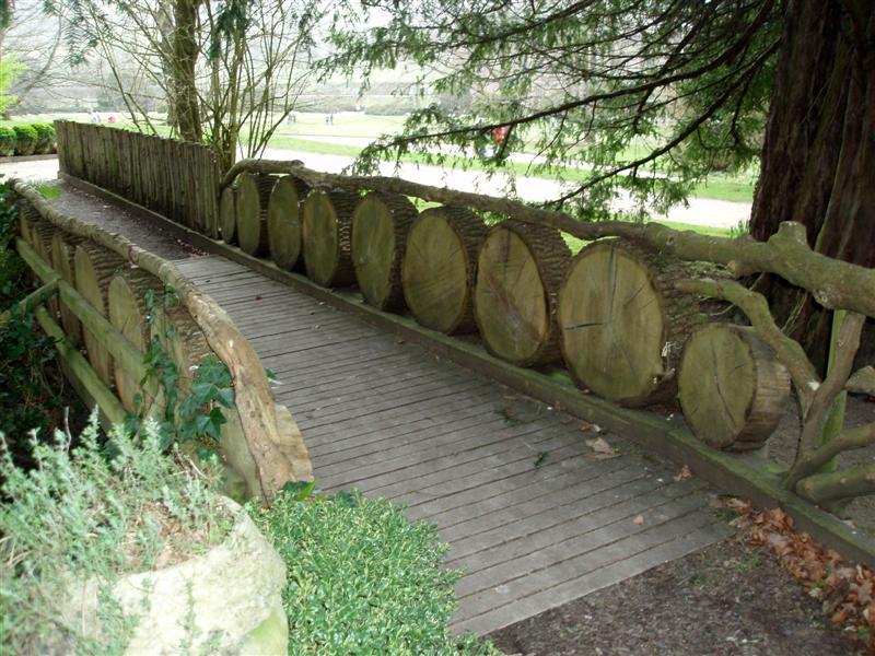 Chatsworth - Loggy bridge