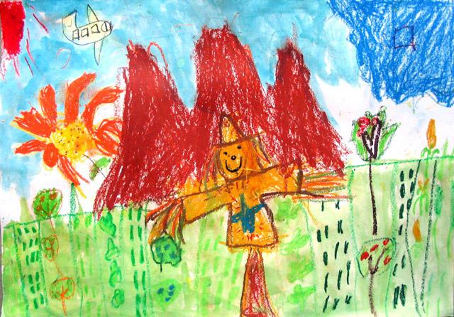 scarecrow, Jacky, age:5