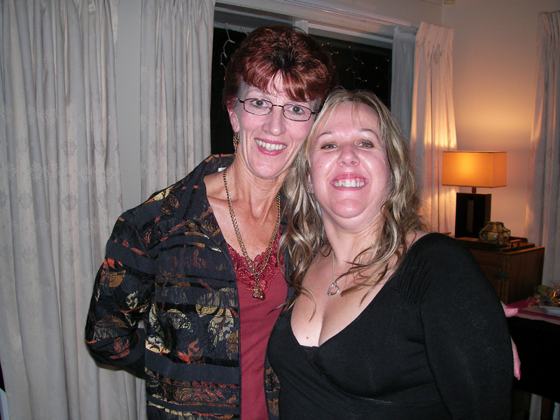Helen and Mandy