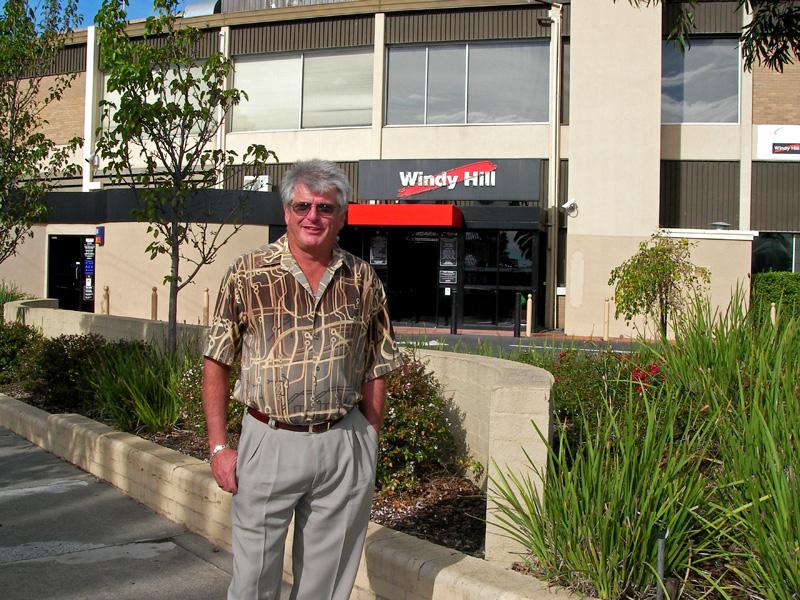 Dave at Windy Hill  16 May, 2007