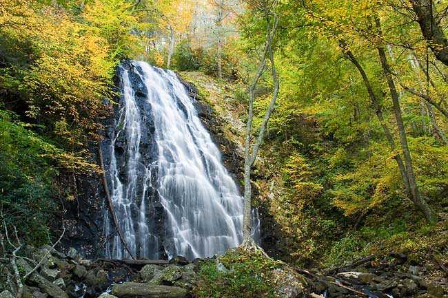 October 13 - Crabtree Falls, Mount Mitchell