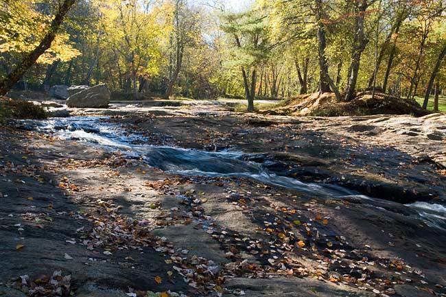 Creek Above McGalliard Falls