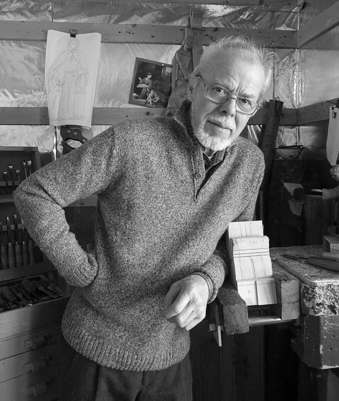 André-Médard Bourgault, sculpteur sur bois