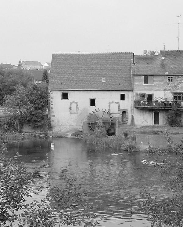 Rural France -  The Waterwheel