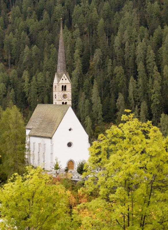 Church in Scuol