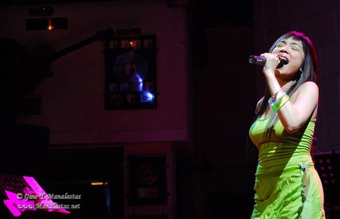 Nina at the Hard Rock Cafe Makati