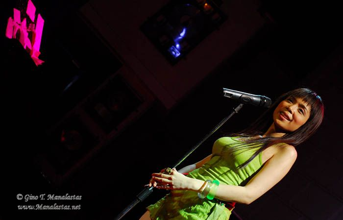 Nina at the Hard Rock Cafe Makati