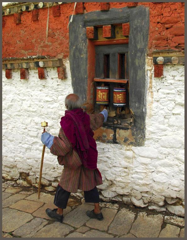 Kurjey Lhakhang Bumthang Valley Bhutan