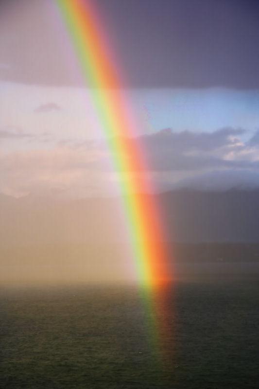 Walk on a rainbow trail...