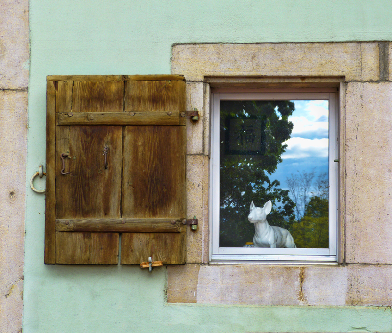 The window with a watcher....