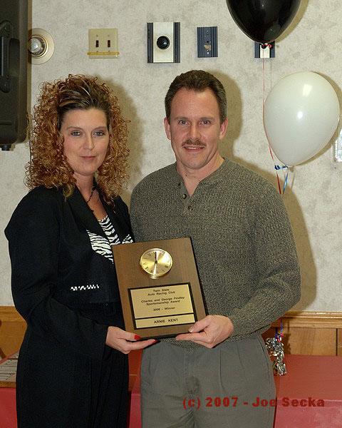 Arnie Kent  2006 Findlay Award Winner