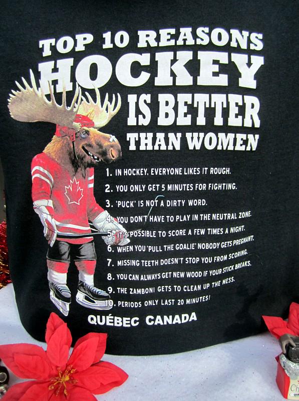 Top 10 reasons hockey is better then women