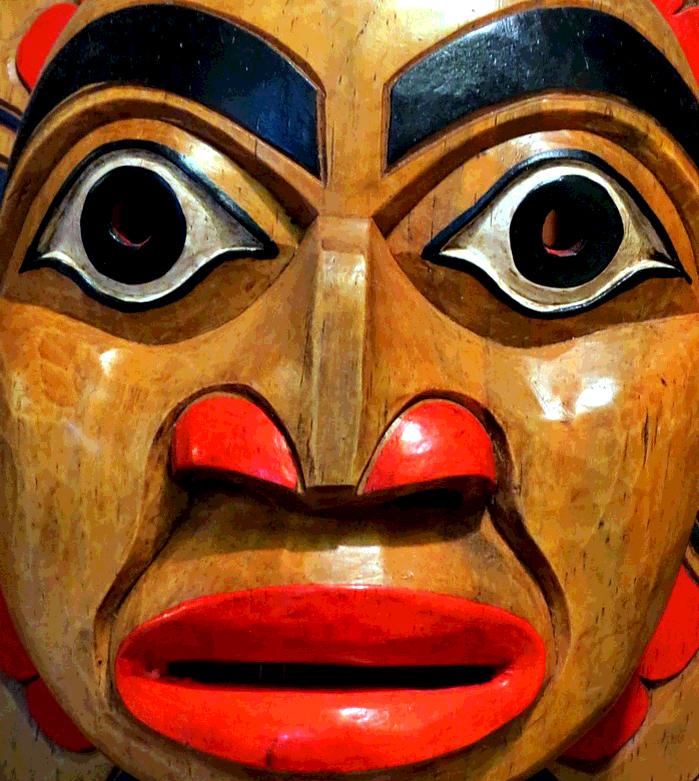 Aïda , copie de masque ancien