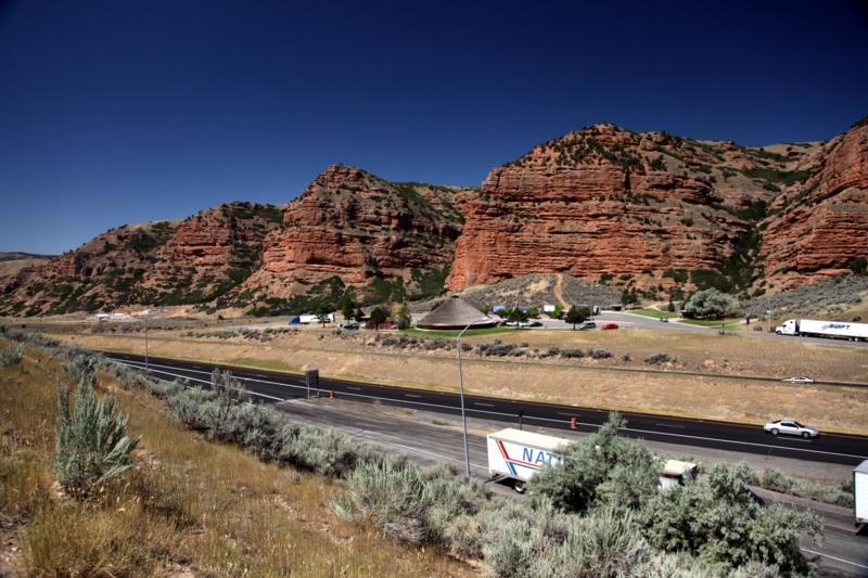 I-80 east of SLC