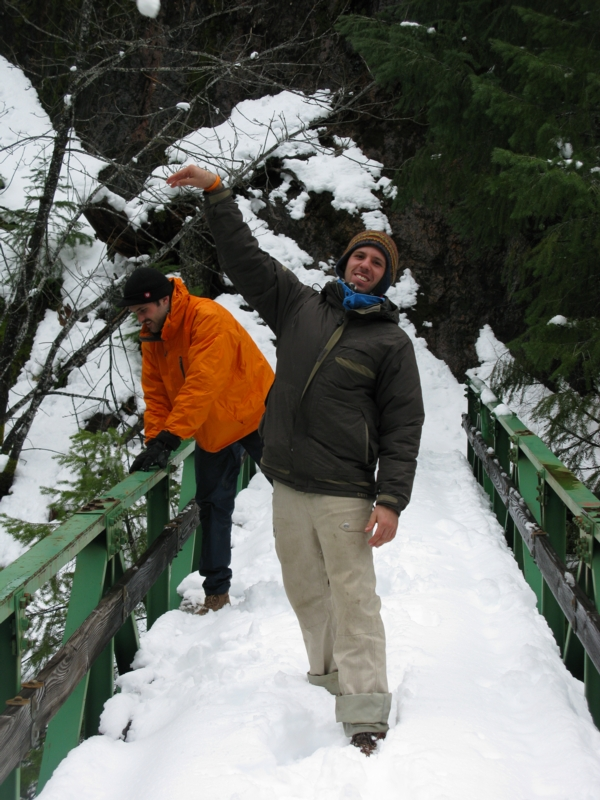 Upper North Fork Salmon bridge