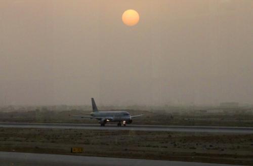 0822 Muscat Airport sunset.jpg