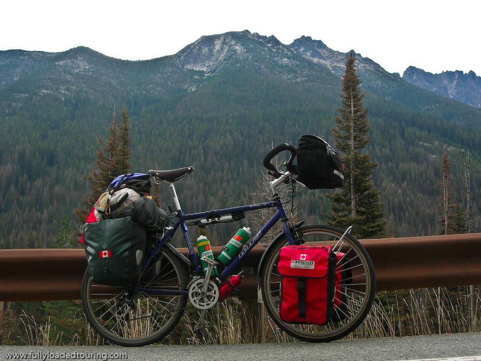 311   Dan - Touring Washington - KHS Montana touring bike