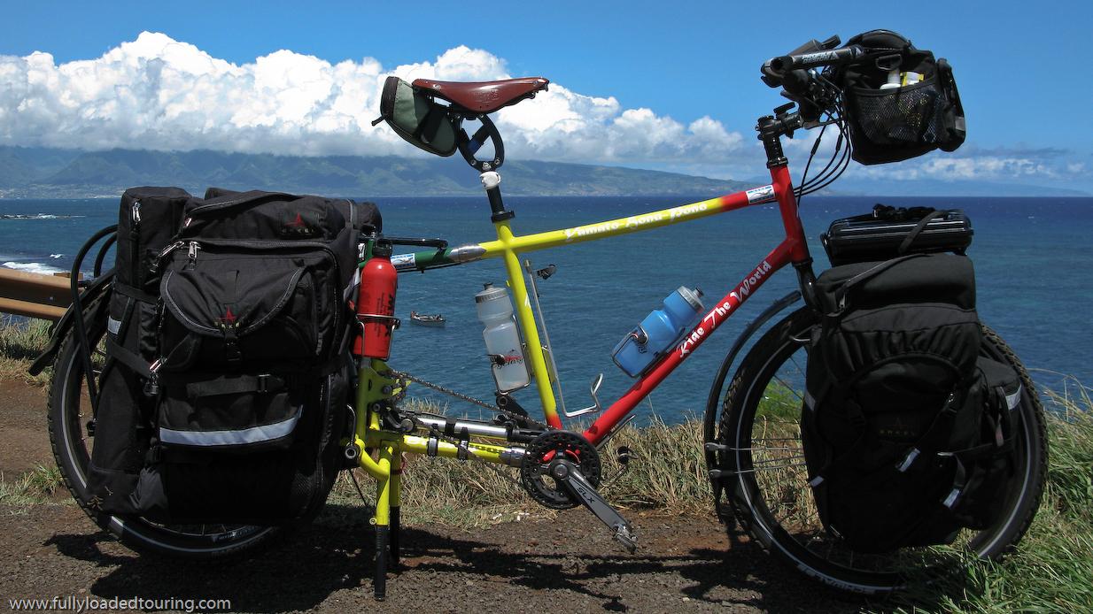 324   Aaron - Touring Hawaii - Bilenky Custom touring bike