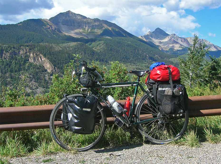 223  Kurt - Touring Colorado - Trek 520 touring bike