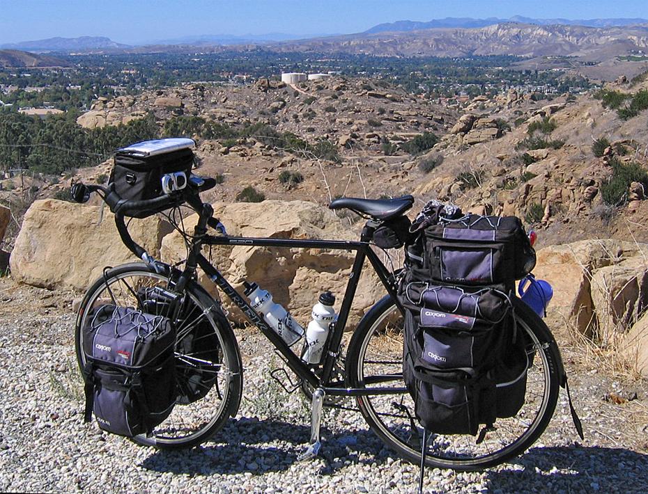 231  Tom - Touring California - Trek 520 touring bike