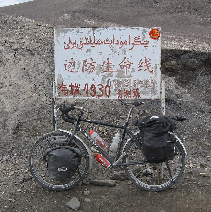 242  Peter - Touring Tibet - Roberts Touring touring bike