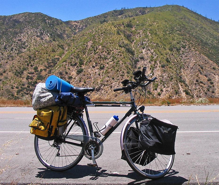 247  Michael - Touring California - Gazelle Medeo touring bike