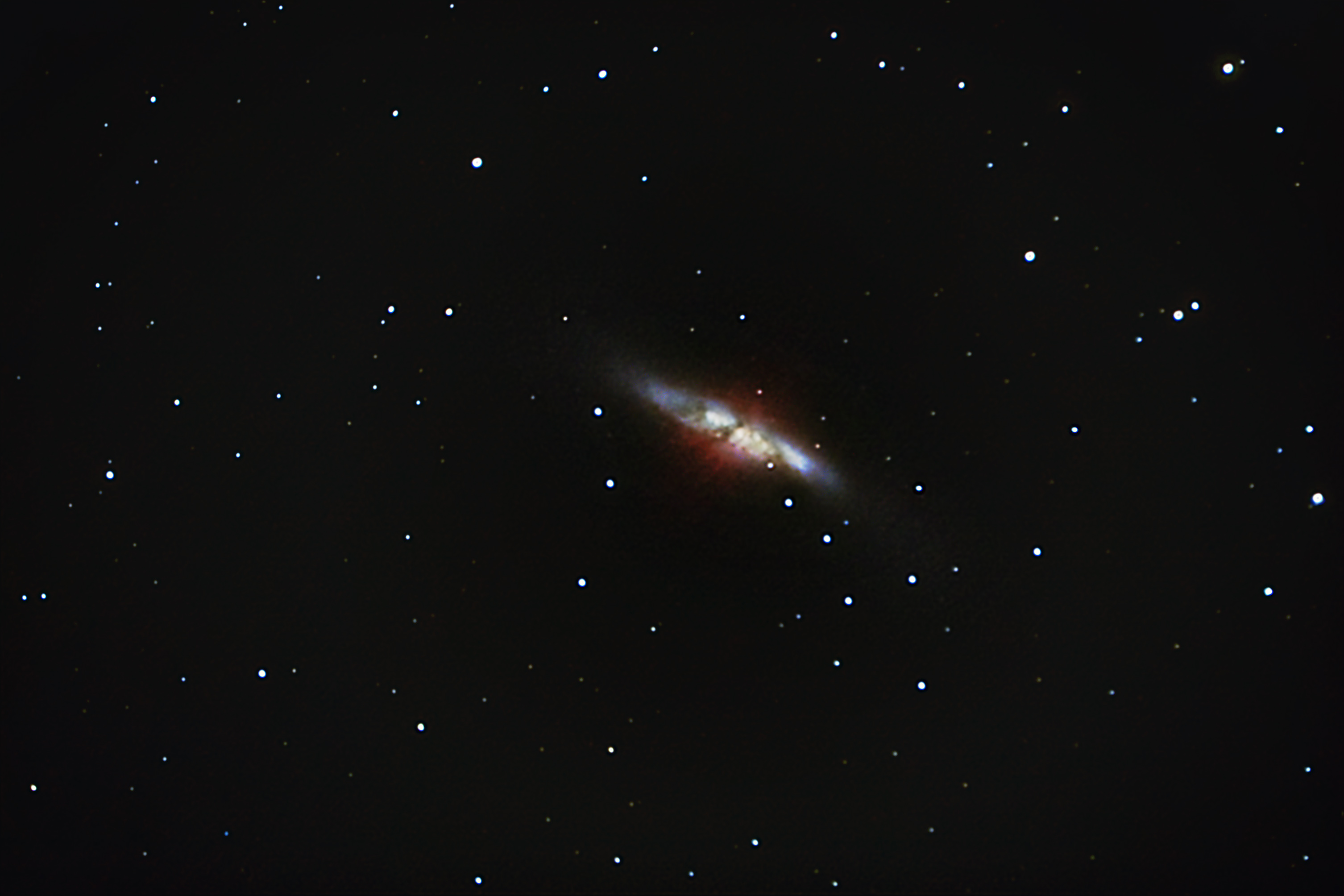 M 82 FROM THE 101 KILOMETER