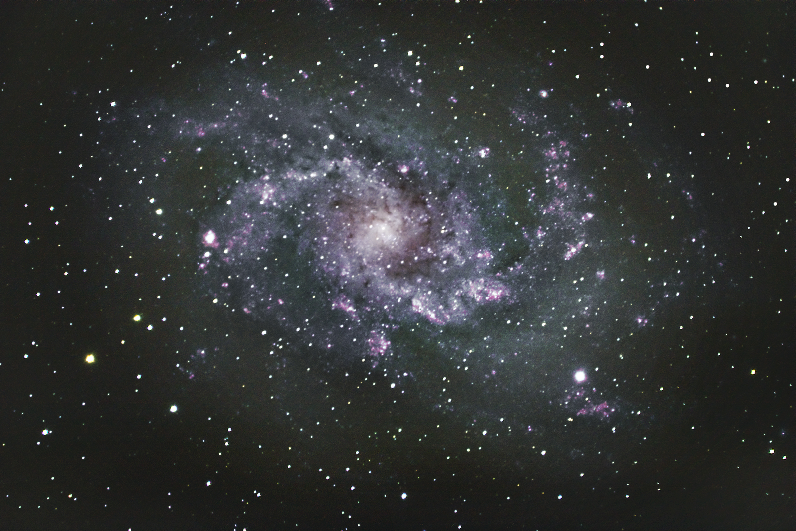 M 33 FROM THE 101 KILOMETER