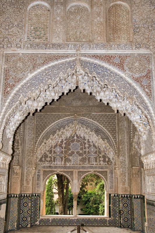 Leones Palace, Alhambra, Granada