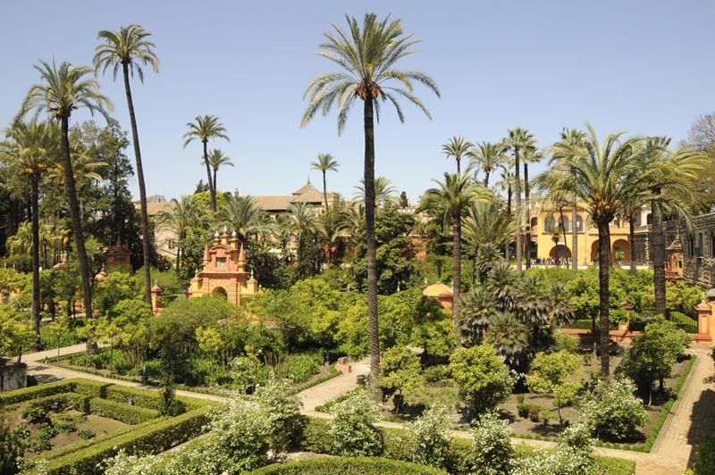 Alcázar Gardens, Seville