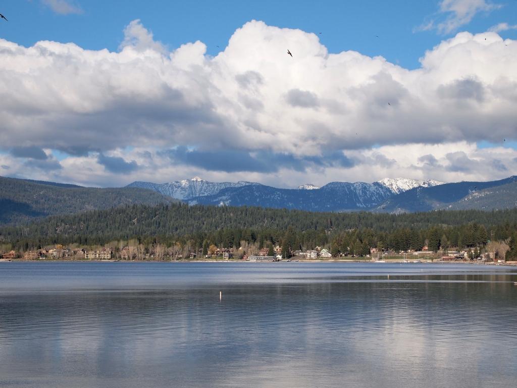 McCall Shore Lodge view of Payette Lake