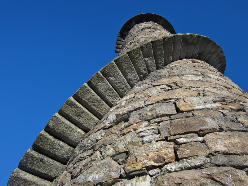 Ballycorus Lead Mines Chimney, Carrickgollogan