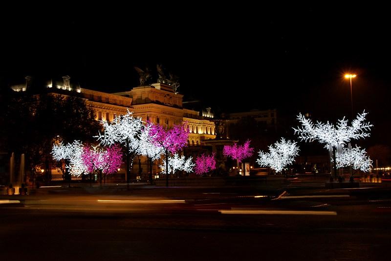 Madrid - Christmas lights