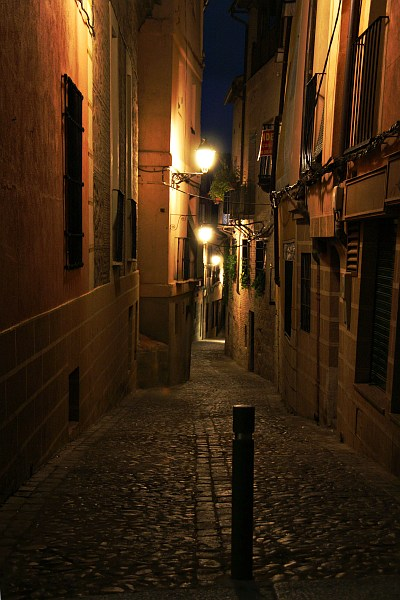 Narrow street in Toledo