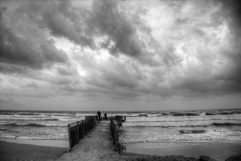 Storm at Bat Yam Beach