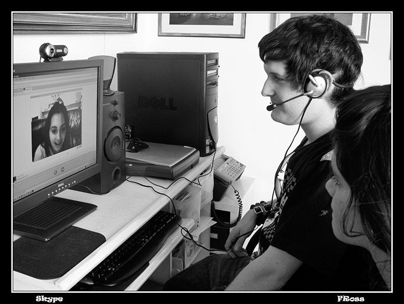 Skype Talk from Israel to Australia