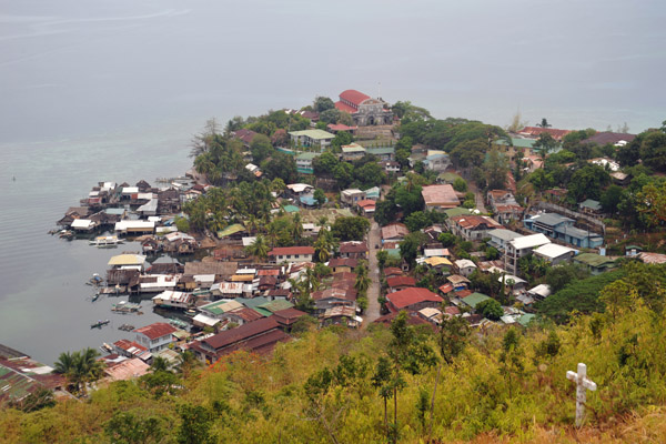View of Culion Town from Agila Hill