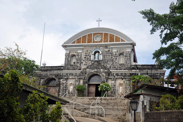 The colonial church of Culion was built around 1740 in the old Spanish fort