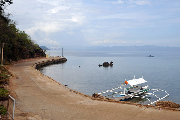 The quai at Culion where our boat dropped us off