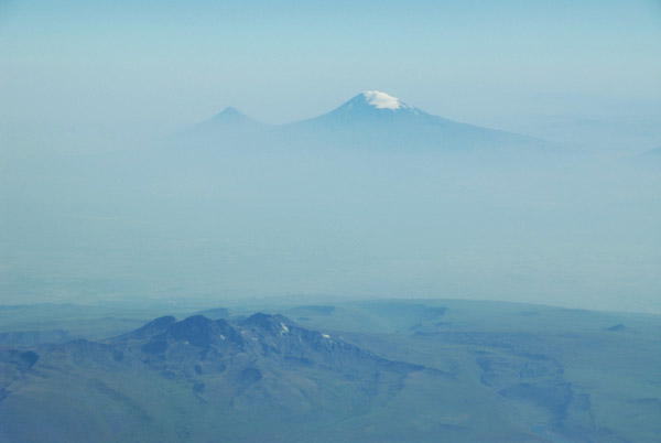 Mount Ararat, Armenia-Turkey (seen from the Armenian side)