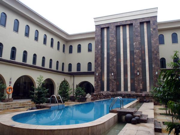 Courtyard pool, Protea Hotel Ikeja, Lagos