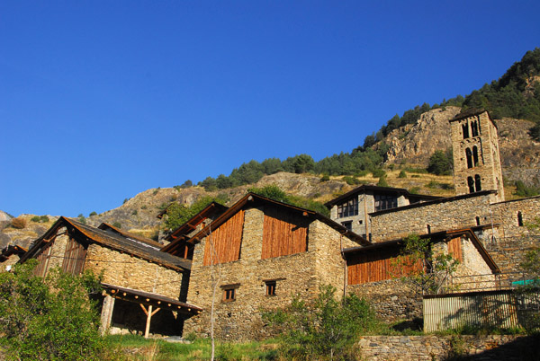 Village of Pal, Andorra, with an 11-12th C. church