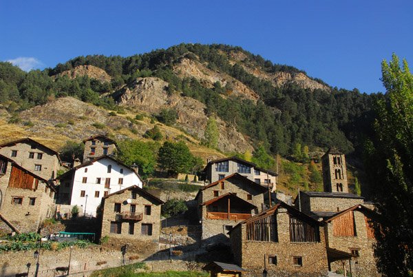 The well-preserved village of Pal, Andorra
