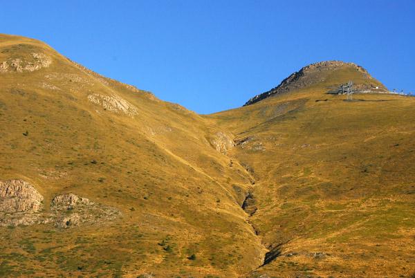 Arinsal ski lift top station, Coll de la Botella