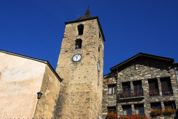 Ordino, one of the seven parishes of Andorra