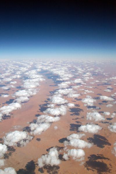 Clouds over the Sahara, In Amenas, Algeria-Libya border region