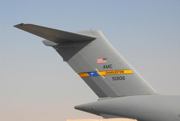 US Air Force C17, South Carolina Air National Guard, 50106