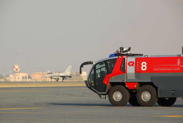 Dubai International Airport crash-fire-rescue vehicle photo