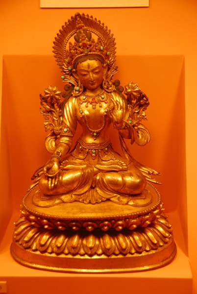 White Tara of the Seven Eyes, 18-19th C. Tibet